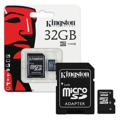 MicroSd Kingston 16Gb Classe 4 SDC4/32GB
