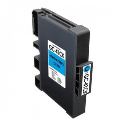 Cartuccia Compatibile Ricoh 405762 GC41C C Ciano 2200 Pagine No Oem