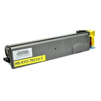 Toner Compatibile Kyocera 1T02F3AEU0 TK510Y Y Yellow 8000 Pagine No Oem