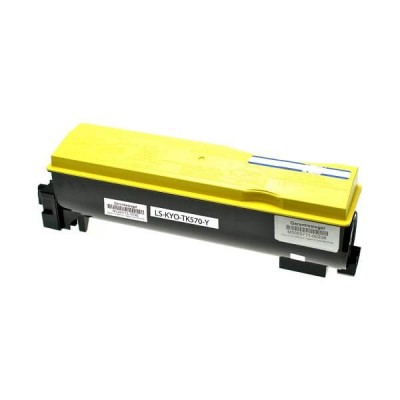 Toner Compatibile Kyocera 1T02HGAEU0 TK570Y Y Yellow 12000 Pagine No Oem