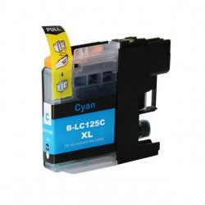 Cartuccia Compatibile Brother LC-125 C Ciano Con Chip No Oem