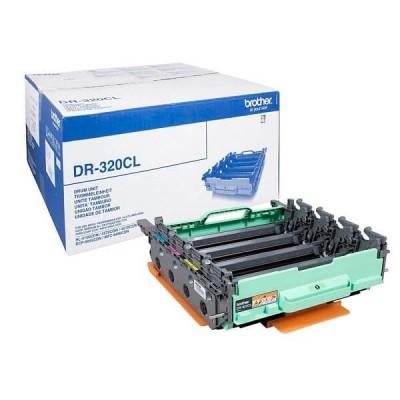 Drum Originale Brother DR320CL DR320 Bk C M Y 25000 Pagine