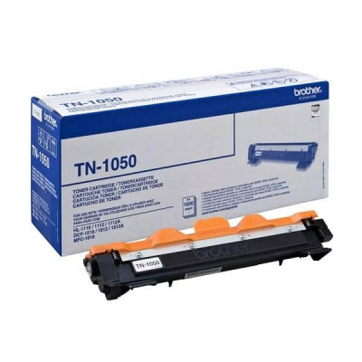 Toner Originale Brother TN-1050 Bk Nero 1000 Pagine