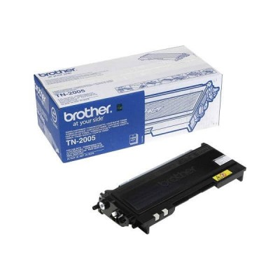 Toner Originale Brother TN-2005 Bk Nero 1500 Pagine
