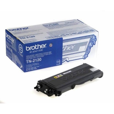 Toner Originale Brother TN-2120 Bk Nero 2600 Pagine