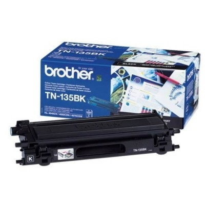 Toner Originale Brother TN-135BK Bk Nero 5000 Pagine
