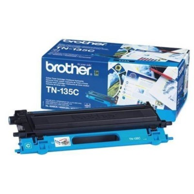 Toner Originale Brother TN-135C C Ciano 4000 Pagine