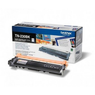 Toner Originale Brother TN-230BK Bk Nero 2200 Pagine