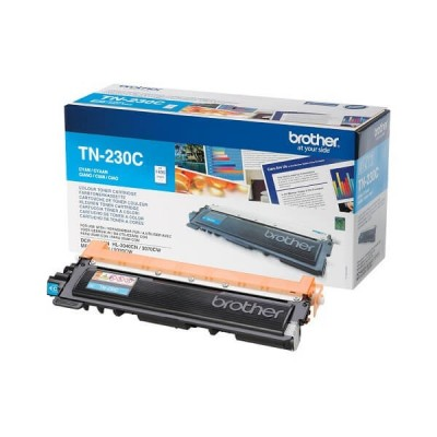 Toner Originale Brother TN-230C C Ciano 1400 Pagine