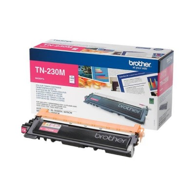Toner Originale Brother TN-230M M Magenta 1400 Pagine