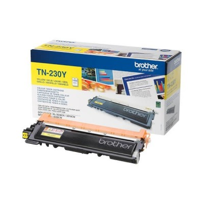 Toner Originale Brother TN-230Y Y Yellow 1400 Pagine