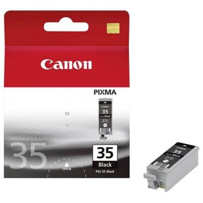 Cartuccia Originale Canon 1509B001 PGI35BK 9,3ml 191 Pagine Bk Nero