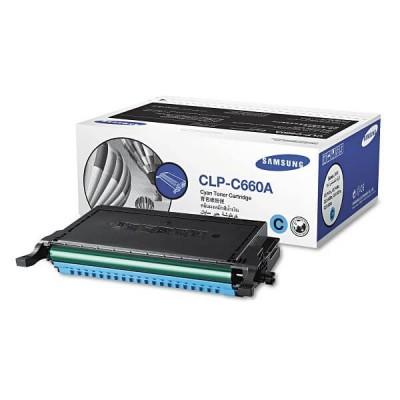 Toner Originale Samsung HP CLPC660AELS ST880A CLPC660A C Ciano 2000 Pagine