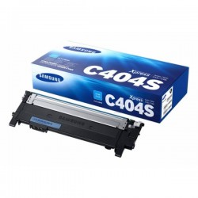 Toner Originale Samsung HP CLTC404SELS ST966A C404C C Ciano 1000 Pagine