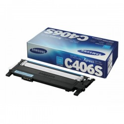 Toner Originale Samsung HP CLTC406SELS ST984A C406 C Ciano 1000 Pagine
