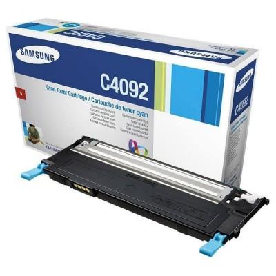Toner Originale Samsung HP CLTC4092SELS SU005A C4092S C Ciano 1000 Pagine