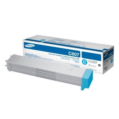 Toner Originale Samsung HP CLTC6072SELS SS537A C607 C Ciano 15000 Pagine
