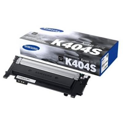 Toner Originale Samsung HP CLTK404SELS SU100A K404S Bk Nero 1000 Pagine