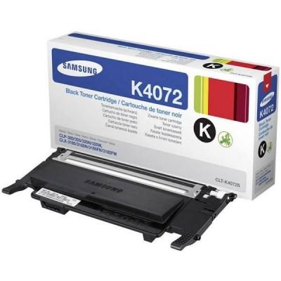 Toner Originale Samsung HP CLTK4072SELS SU128A K4072S Bk Nero 1500 Pagine