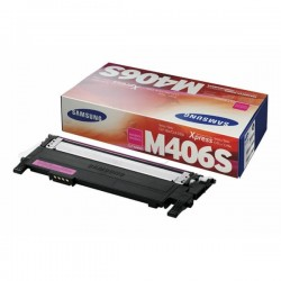 Toner Originale Samsung HP CLTM406SELS SU252A M406 M Magenta 1000 Pagine