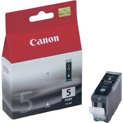 Cartuccia Originale Canon 0628B001 PGI5BK 26ml 505 Pagine Bk Nero