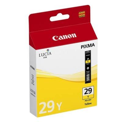 Cartuccia Originale Canon 4875B001 PGI29Y 36ml 1420 Pagine Y Yellow