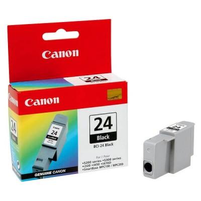 Cartuccia Originale Canon 6881A002 BCI24BK 10ml 170 Pagine Bk Nero