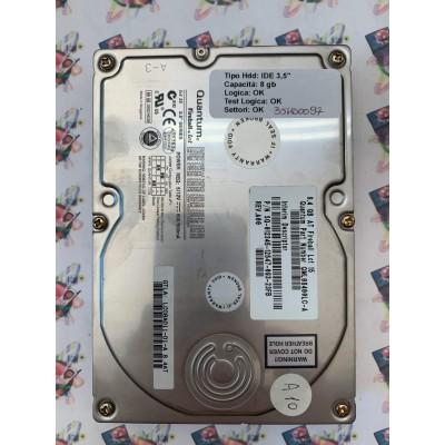"""Hard Disk Usato Funzionante 100% Ok  Ide 3,5"""" 8Gb Quantum FIREBALL LCT 15 SG-012345-12547-093-23FB A00"""