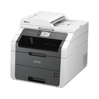 Stampante Multifunzione Laser Colore Brother A4 MFC-9140CDN 4 in 1 Stampa Copia Scansione Fax Lan Fronte Retro Automatico