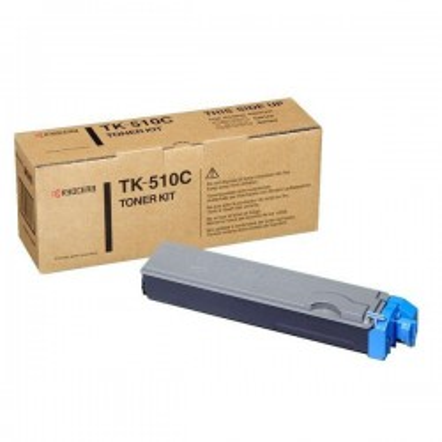 Toner Originale Kyocera 1T02F3CEU0 TK510C C Ciano 8000 Pagine