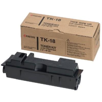 Toner Originale Kyocera 1T02FM0EU0 TK18 Bk Nero 7200 Pagine