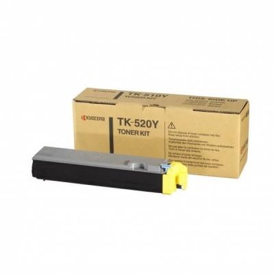 Toner Originale Kyocera 1T02HJAEU0 TK520Y Y Yellow 4000 Pagine