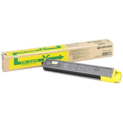 Toner Originale Kyocera 1T02NPANL0 TK8325Y Y Yellow 12000 Pagine
