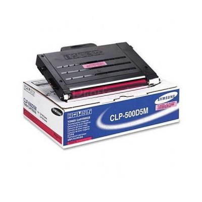 Toner Originale Samsung HP CLP-500D5M M Magenta 5000 Pagine