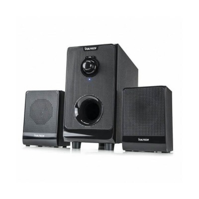 Casse acustiche 2.1 Speaker Set 25W RMS Vultech SP-2008 Subwoofer in legno