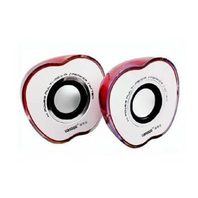 Casse TZ-801 a forma di Mela Apple colore Rosso Alimentazione Usb