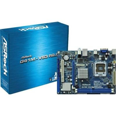Scheda madre Asrock G41M-VS3 Intel 775 2xddr3 1333 4 sata vga