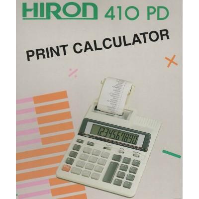 Calcolatrice Hiron 410PD 10 Cifre