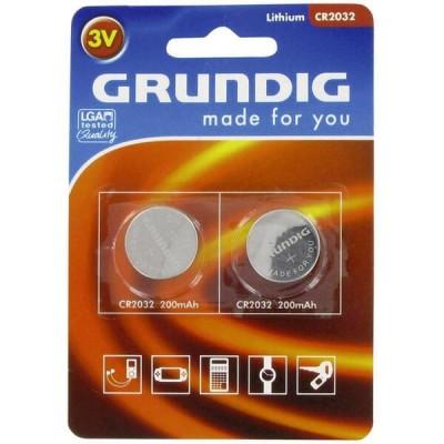 Blister 2 Batterie Bottone Grunding CR2032 2032 3V 200mAh SB-T15 L14