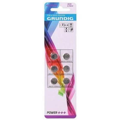 Blister 6 Batterie Bottone Grunding AG10 LR1130 389