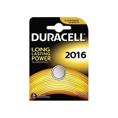 Batterie Bottone Duracell 2016 CR2016 DL2016 ECR2016 3V Litio