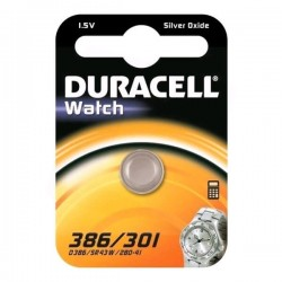 Batterie Bottone Duracell 386 301 D386 SR43W 280-41