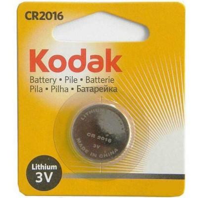 Batterie Bottone Kodak CR2016 Litio 3V