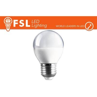 Lampadina LED FSL G50 E27 6W luce 25W A+ Bianco Naturale 4000K 480LM 15000 ore