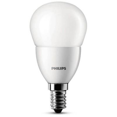 Lampadina LED Philips E14 6W luce 40W A+ Bianco Caldo 2700K 470LM