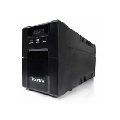 UPS 700VA offline Gruppo di Continuità Vultech GS-700VA PRO 2x Bipasso/Schuko 1x IEC13
