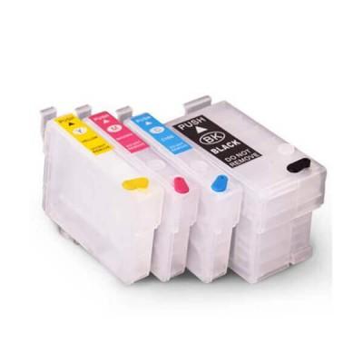 Kit 4 Cartucce Vuote Compatibili Epson T2711 T2712 T2713 T2714 Chip Autoreset Non Originale