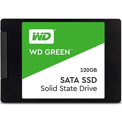 """Hard Disk Nuovo SSD 2,5"""" Western Digital 120gb Green WDS120G2GO"""