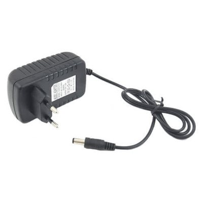 Alimentatore AC DC Input 100-240V AC 50-60Hz 0.5A Output 12VDC 1a