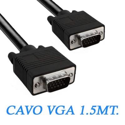 Cavo VGA Maschio Maschio 1,5mt Trustech TR-6515